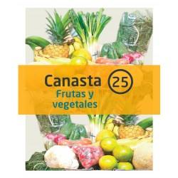 Canasta 25 - Frutas y...