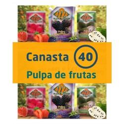 Canasta 40 - Pulpa de Frutas
