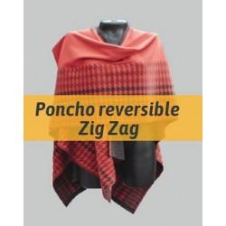 Poncho Reversible ZigZag